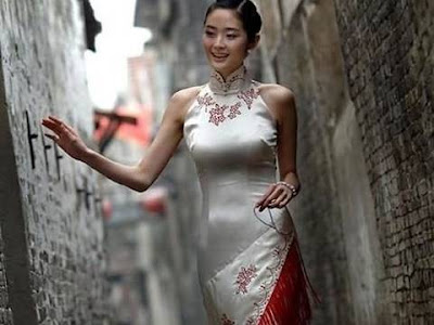 Socialites were the only ones who could wear the cheongsam or qipao