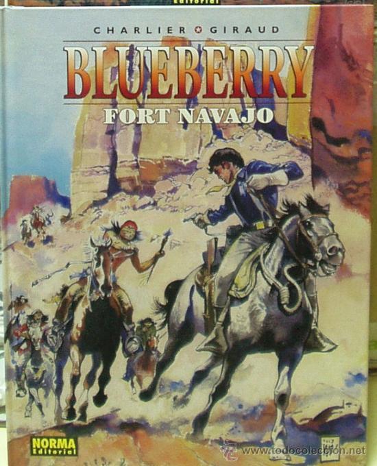 Enciclopedia visual del teniente blueberry fort navajo for Teniente blueberry
