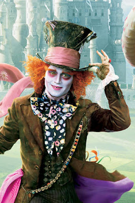 Johnny Depp, movies, Hollywood, Alice in Wonderland, cinema