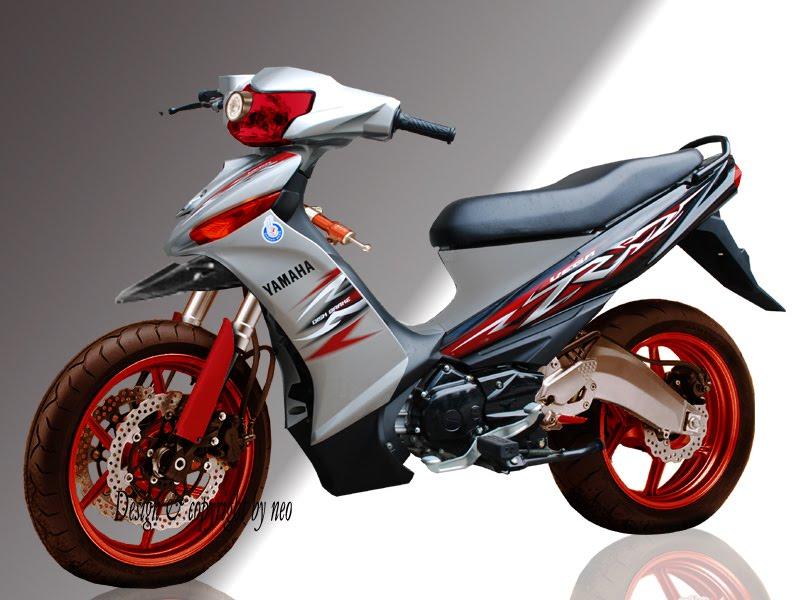 Modifikasi Motor Yamaha Vega R title=