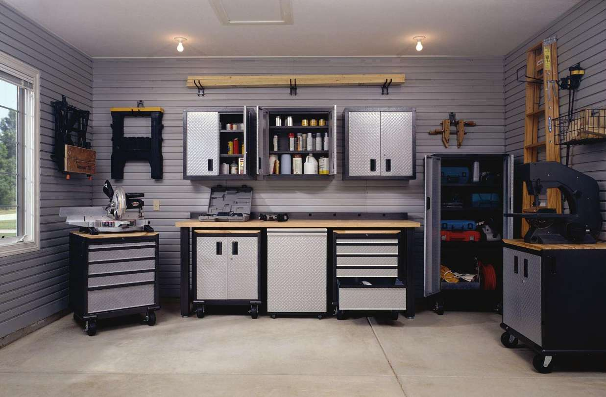 Dondehogar resoluci n de a o nuevo garage y jard n for Muebles para garage
