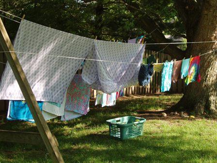 Dondehogar accesorios para el lavadero tendederos - Tendedero ropa exterior ...