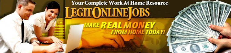 My Legit Online Jobs