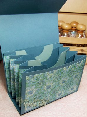 "Inspired and Unscripted4 x 6"" Accordion File Purse Tutorial"