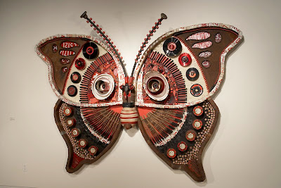 Junk mail gems michelle stitzlein 39 s recycled art - Cool stuff made from junk ...