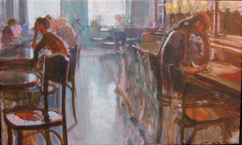 Joost doornik blog januari 2011 - Schilderij kooi d trap ...