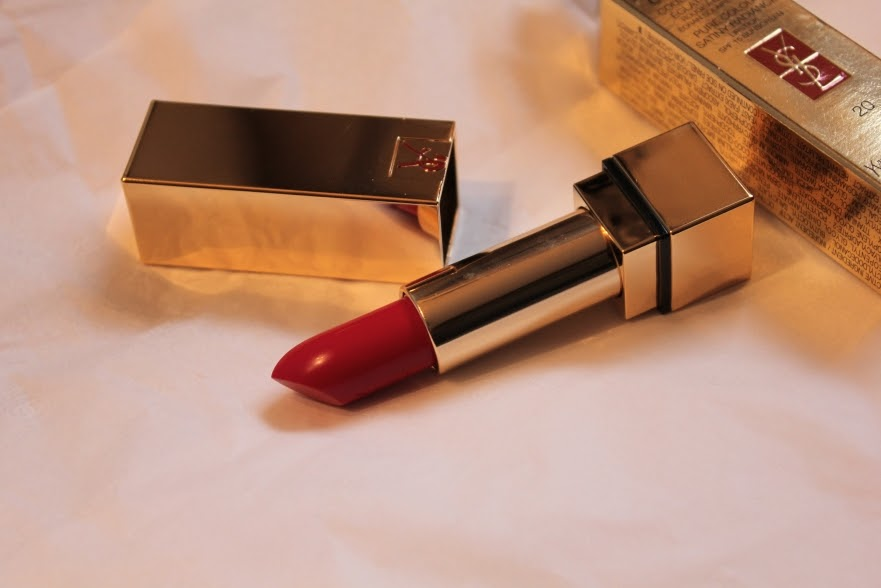 YSL Rouge Pur Couture Lipstick No.20 Rouge Flamme