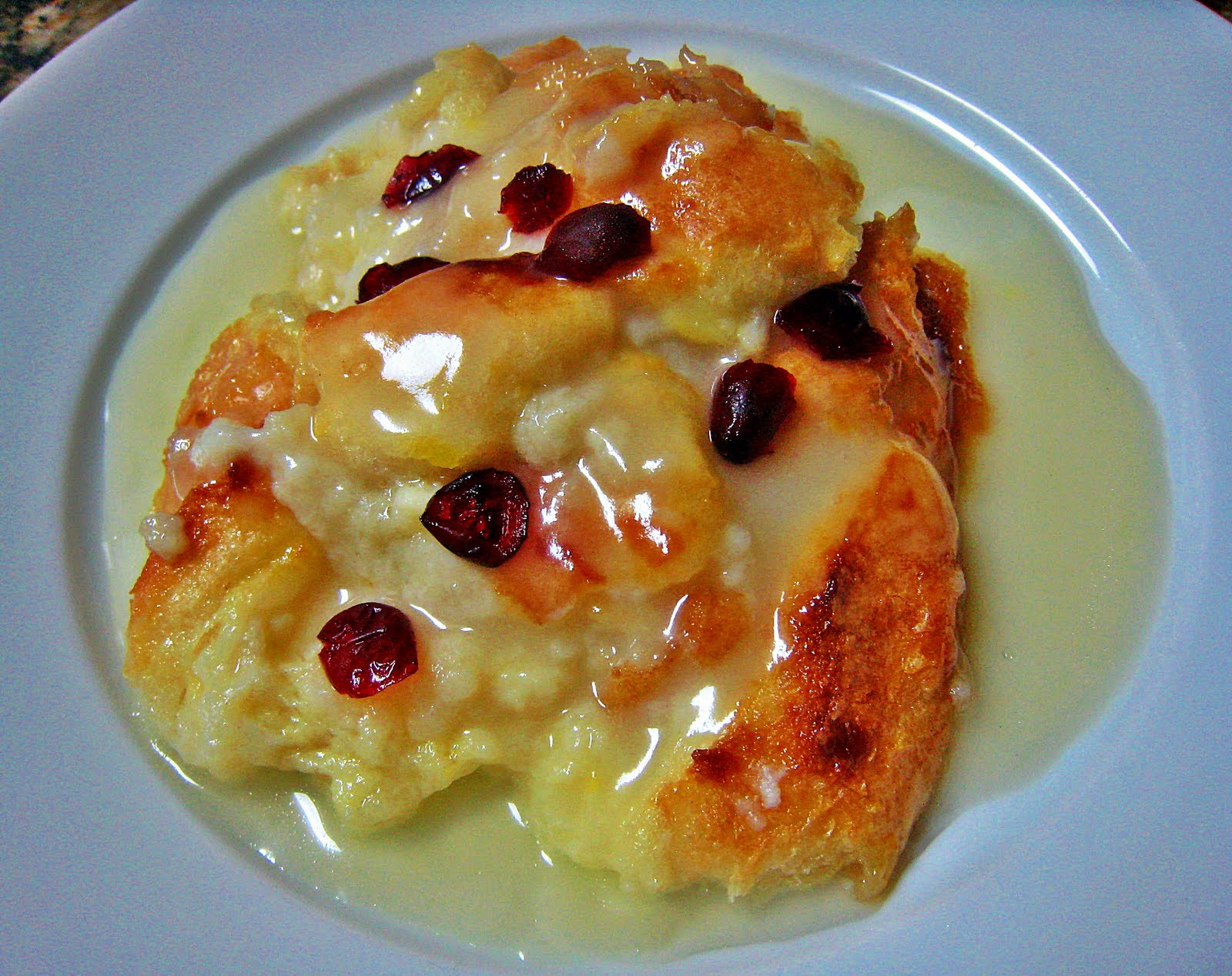 ... LOVE by..... The Burmese Mom: Bread Pudding with Rum Sauce