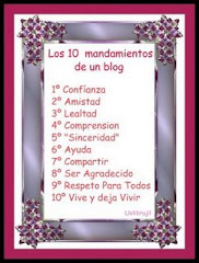 Los 10 mandamientos de tu blog