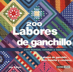 revista 200 labores crochet