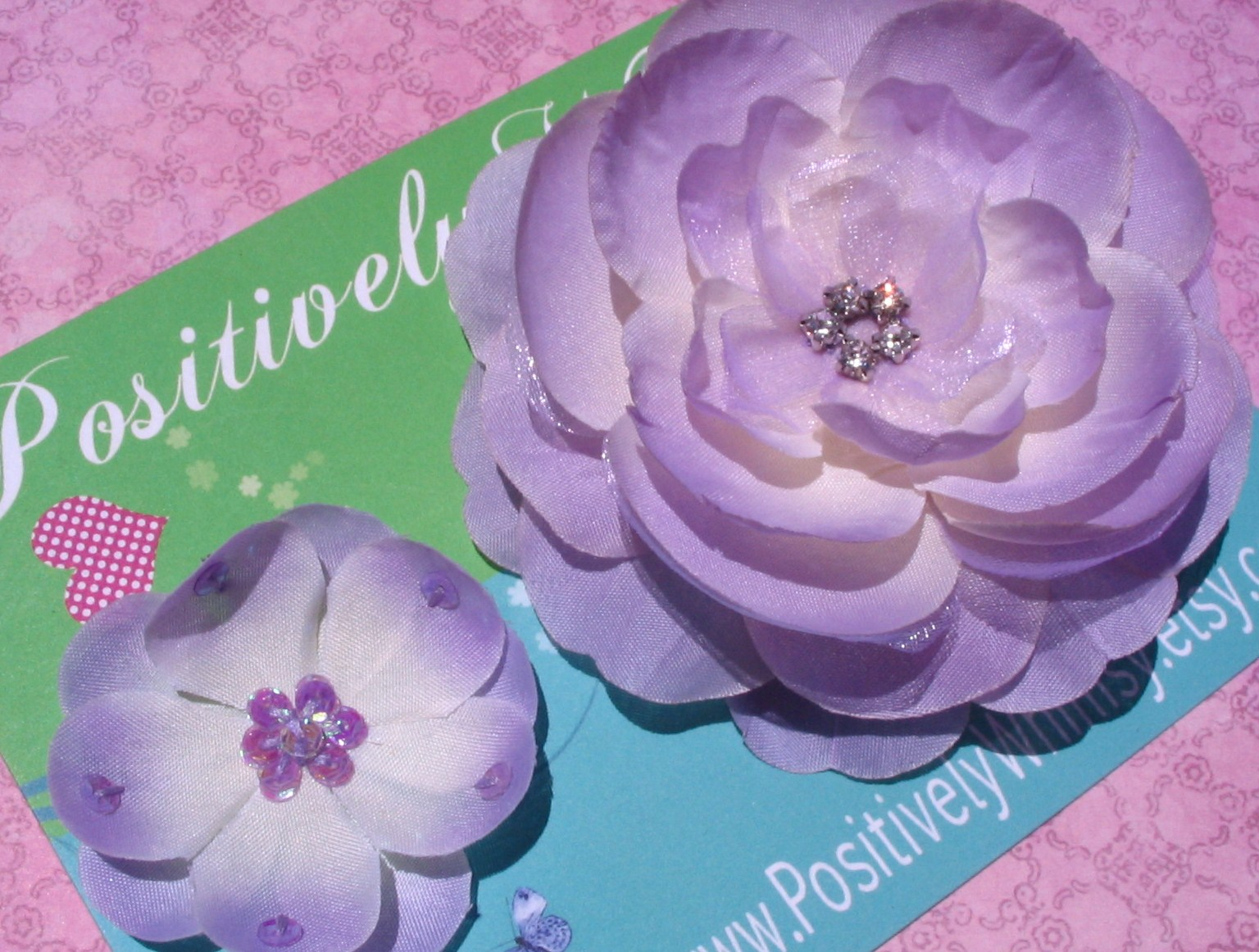 Positively Whimsy Motherdaughter Boutique Layered Lilac Silk