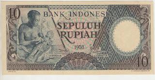 uang kuno, Indonesia,uang, koleksi, Rp, Uang Kuno,koin, mata uang, Seri,kertas, seri, Koleksi, Museum, harga,10 Rupiah Pekerja