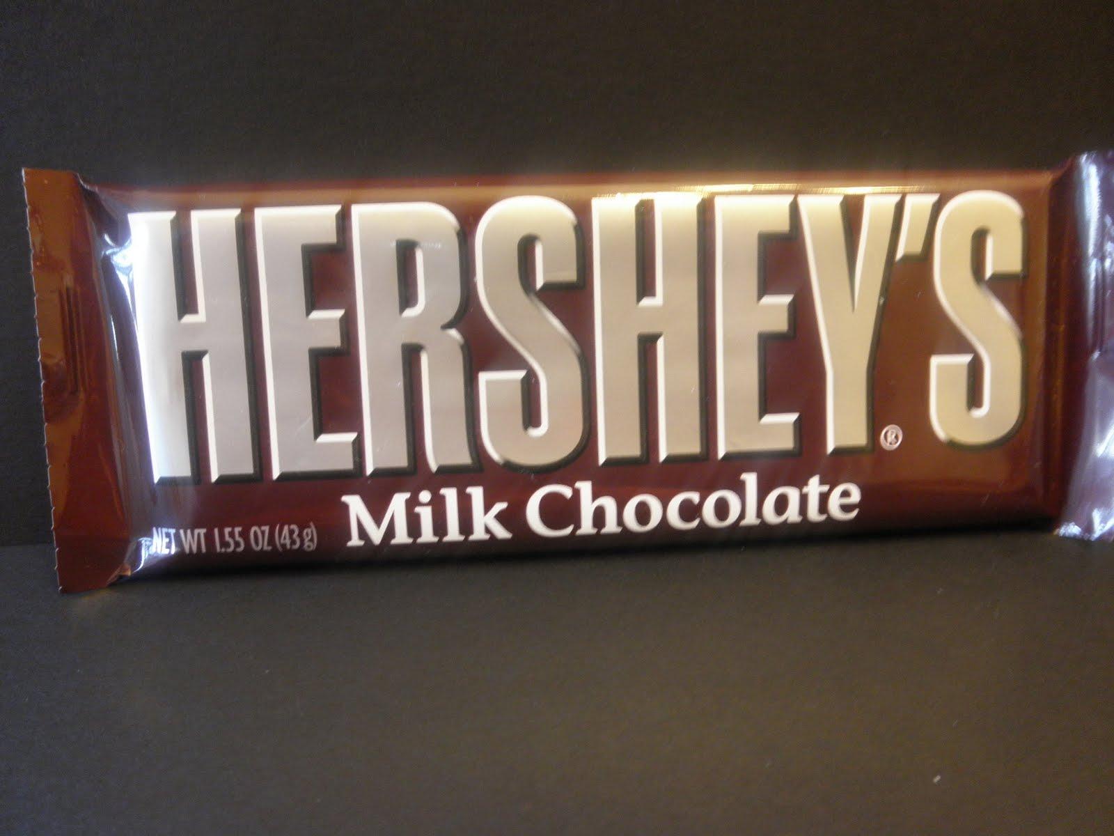 hershey candy bar wrapper