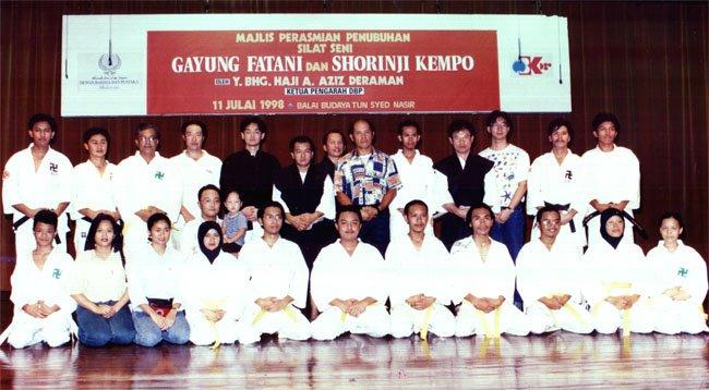 SHORINJI KEMPO W.P & SELANGOR WEST MALAYSIA