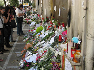 Greece mourns victims of Bank fire