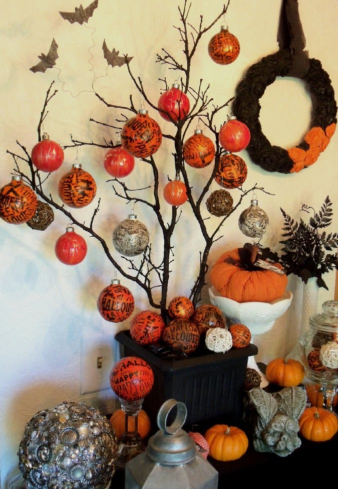 Make the best of things fun halloween decorating for Things to make for halloween decorations