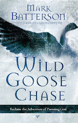 "I am currently reading ""Wild Goose Chase"""