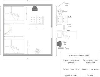 Plano De Mi Habitacion