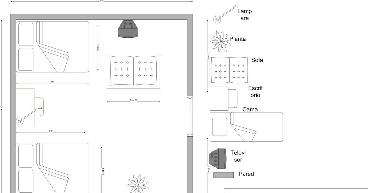 Plano de mi habitacion for Reglas de mi habitacion