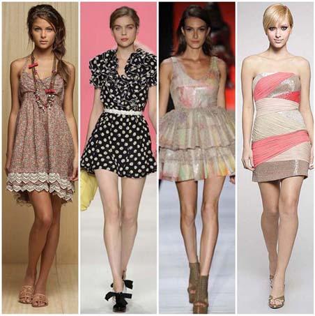 Vestidos Curtos Verão 2011 – Dicas e Fotos