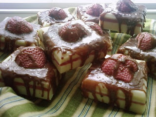 Strawberry Coconut & Chocolate Goats Milk Soap