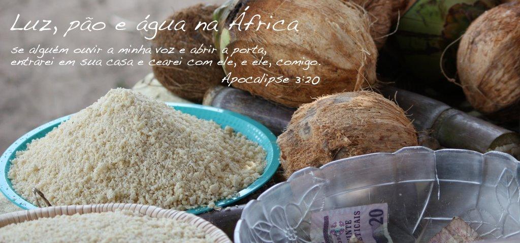 Luz, pão e água na África
