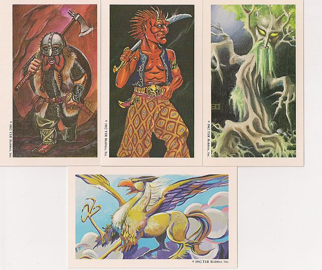 Image of the AD&D Monster Cards