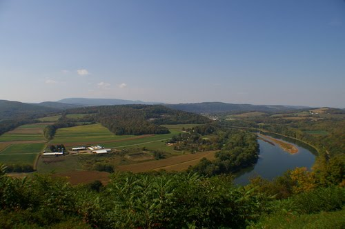 Route 6 Overlook of Susquehanna River