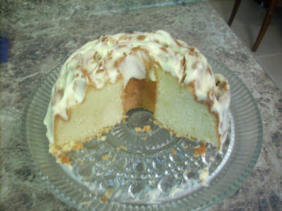 Pound Cake Made With Swans Cake Flour