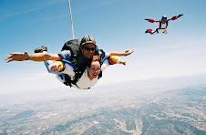 Sky Diving Over Santa Barbara