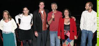 Edgard Navarro e elenco do filme Eu me lembro