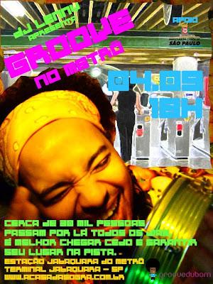 DJ Lenny e seu Groove no Metrô