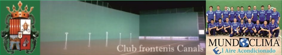 Club frontenis Canals