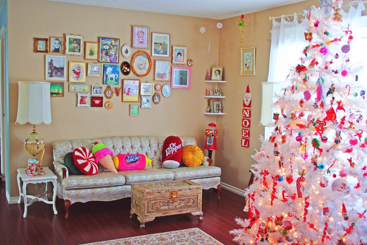 Украшения для комнаты на новый год своими руками фото
