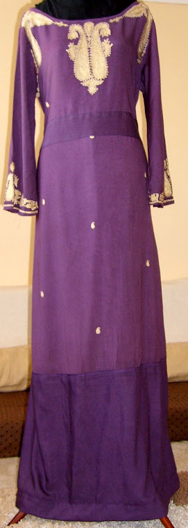 Transformed shalwar to ABAYA!