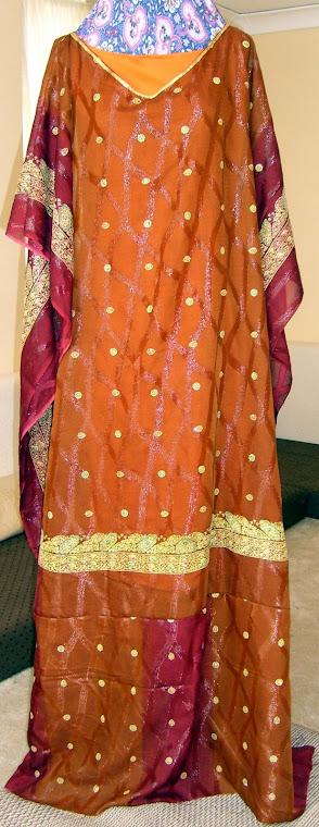 Indian inspired Caftan