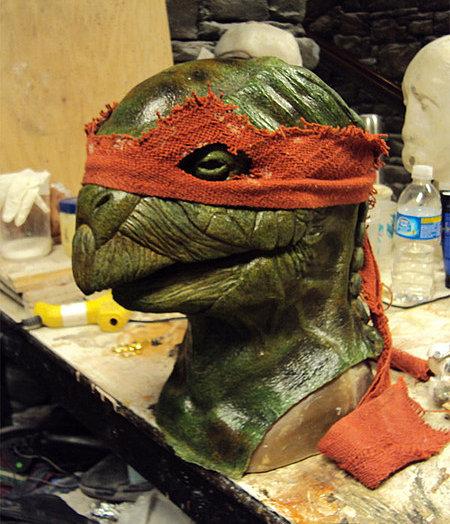 La nueva cara de las Tortugas Ninja 2012