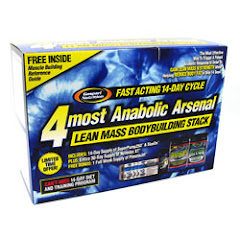 Gaspari Nutrition 4Most Anabolic Stack