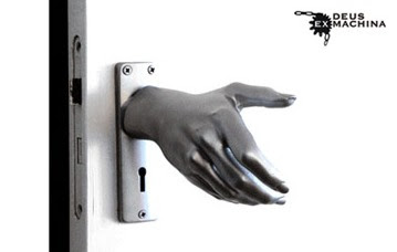 Surreal door handle