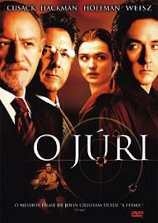 Filme Poster O Júri DVDRip RMVB Dublado