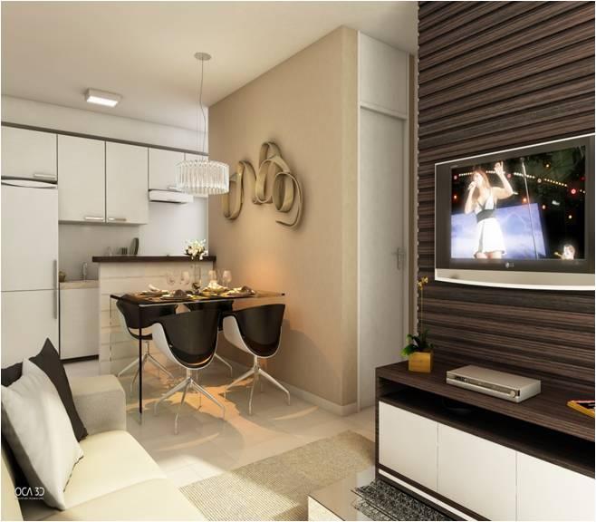 Sala Pequena Integrada Com Cozinha ~ sala pequena integrada com a cozinha