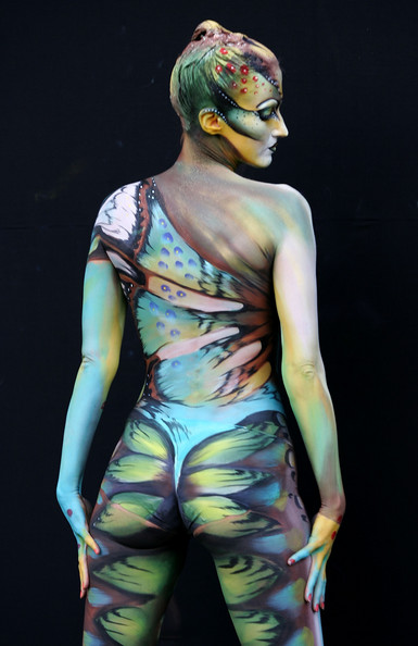 body painting picture gallery