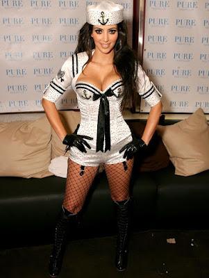 Kim Kardashian As A Pussycat Doll