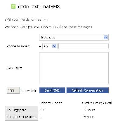 aplikasi Chat SMS
