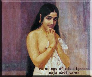 Paintings of His Highness Raja Ravi Varma