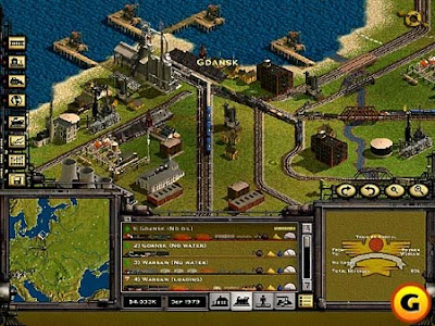 Download Compressed Rail Road Tycoon II PC Game