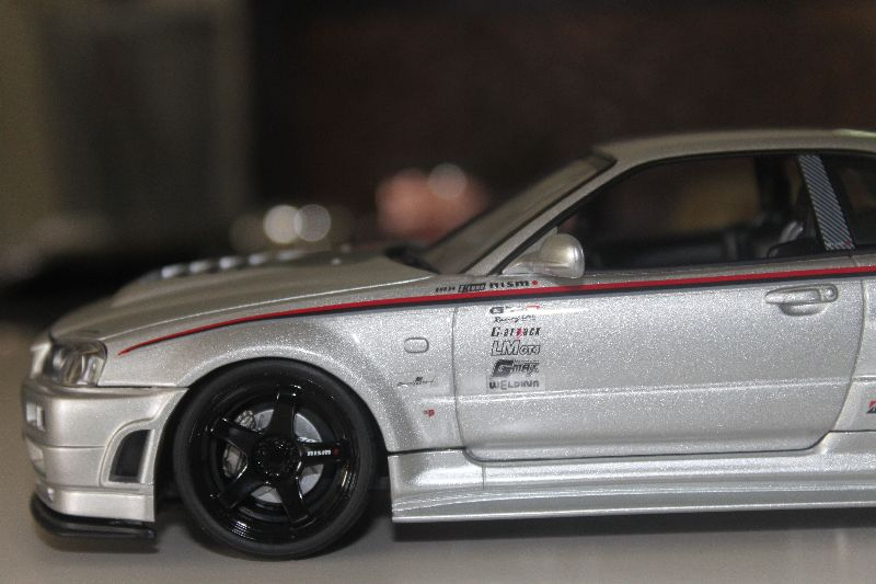 Hotworks 1 24 Nissan Skyline R34 Nismo Z Tune