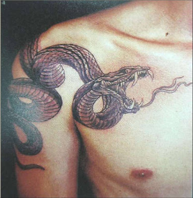 Japanese Snake Tattoo. Snake tattoo 08