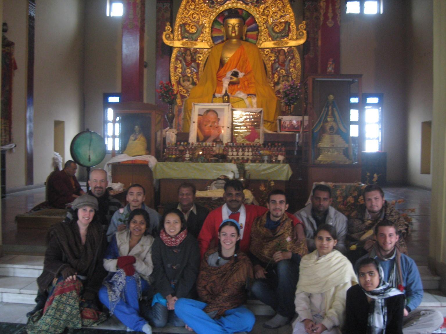 [Jai Bhim Ann sunday group in tibetan vihara.jpg]