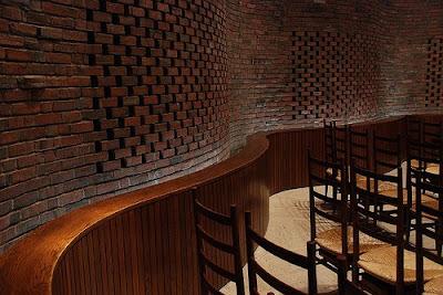 Ideas for brick architecture eero saarinen mit chapel - Brick wall patterns designs ...